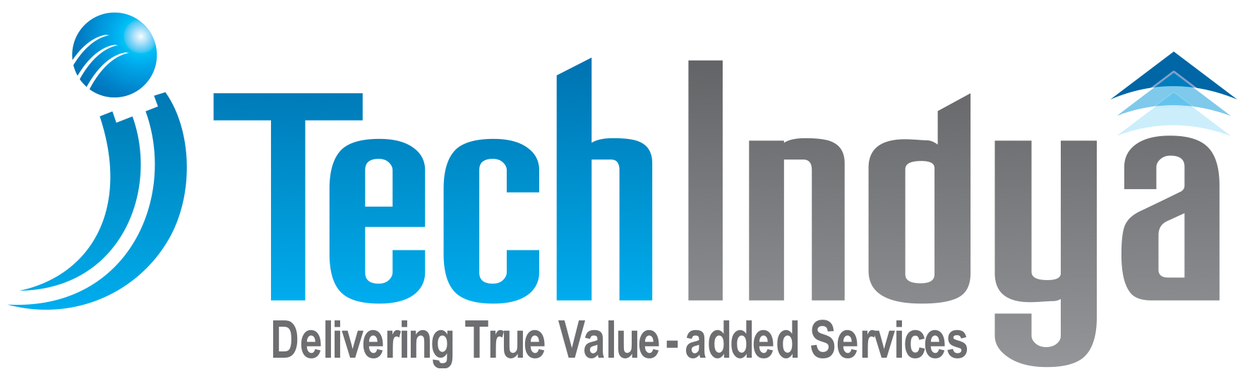 tech indya it services company logo hyderabad india